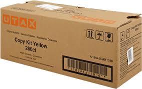 Utax-Triumph Adler 652611016 toner giallo 5.000 pagine