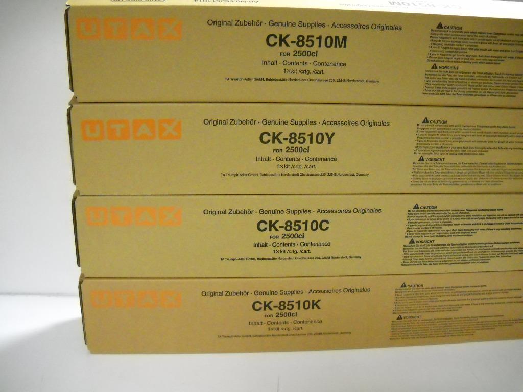 Utax-Triumph Adler CK-8510K toner nero, durata 18.000 pagine, Utax