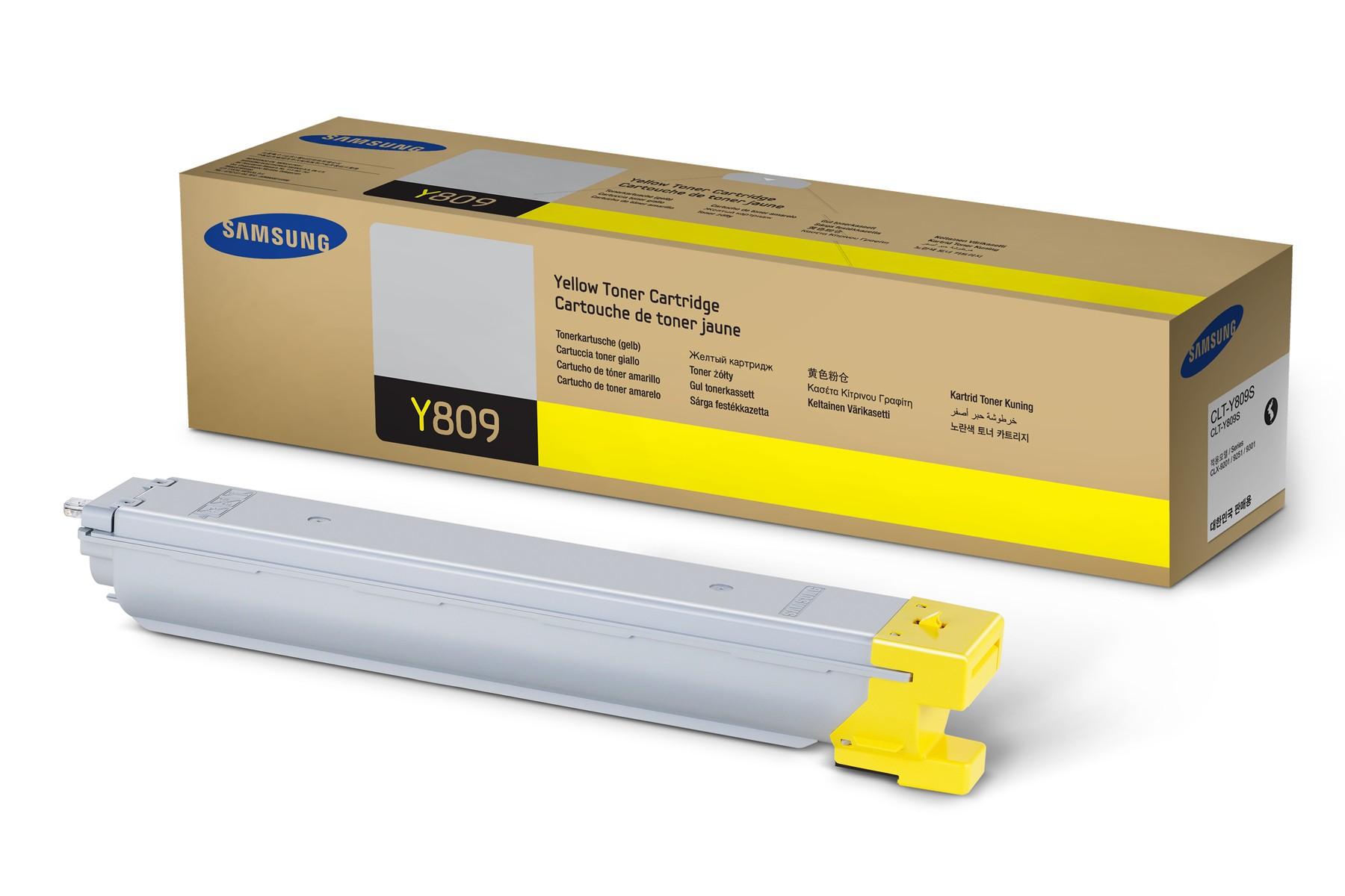Samsung CLT-Y809S toner giallo, durata 15.000 pagine