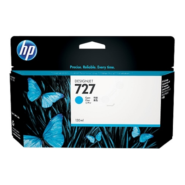 Hp B3P19A Cartuccia d'inchiostro cyano 130ml
