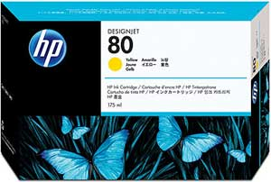 Hp C4873A cartuccia bassa cap. giallo 175ml