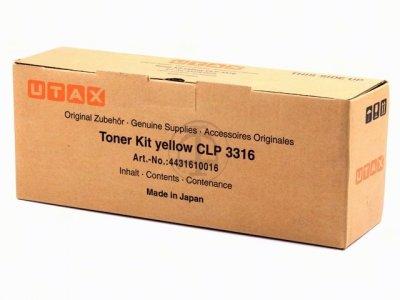 Utax-Triumph Adler 4431610016 toner giallo, durata 4.500 pagine