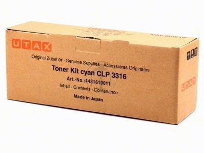 Utax-Triumph Adler 4431610011 toner cyano, durata 4.500 pagine