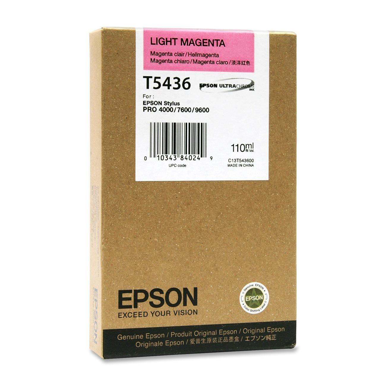 Epson T543600  cartuccia magenta-chiaro 110ml