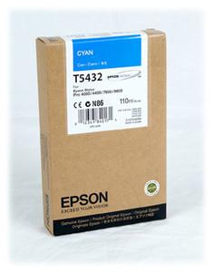 Epson T543200  cartuccia cyano,capacit� 110ml