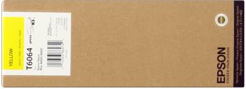 Epson T606400 Cartuccia giallo, capacit� 220ml