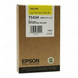 Epson T543400  cartuccia giallo, capacit� 110ml