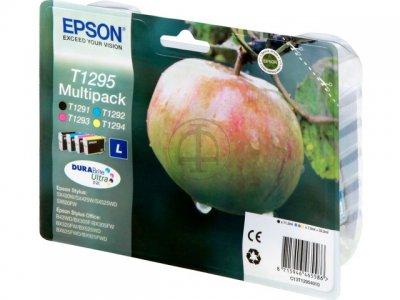 Epson T12954010 multipack nero e colore(4Pz)