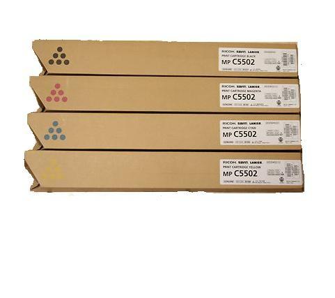 Ricoh 841684 toner giallo, durata 22.500 pagine