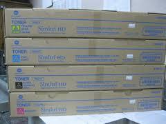 konica Minolta TN321Y toner giallo, durata 25.000 pagine