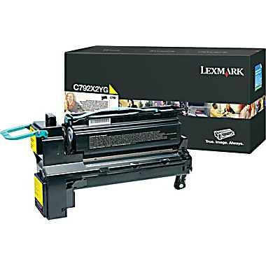 Lexmark C792X2YG  toner giallo 20.000p