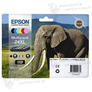 Epson C13T24384010 6 Cartucce d'inchiostro multipack
