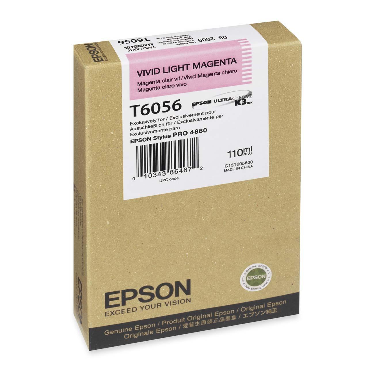 Epson T605600 Cartuccia magenta chiaro 110ml
