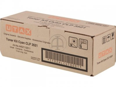 Utax-Triumph Adler 4452110011 Toner Originale cyano durata 4.000 pagine
