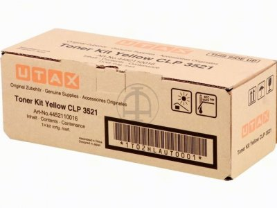Utax-Triumph Adler 4452110016 Toner Originale Giallo durata 4.000 pagine