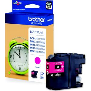 Brother LC-125XLM Cartuccia d'inchiostro magenta ~1200 pagine