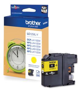 Brother LC-125XLY Cartuccia d'inchiostro giallo ~1200 pagine