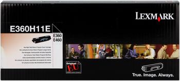 Lexmark e360h11e toner originale nero, durata indicata 9.000 pagine