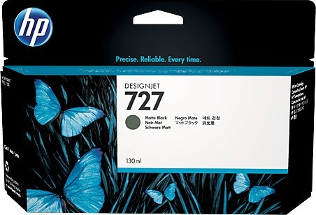 Hp B3P22A Cartuccia d'inchiostro nero opaco 130ml