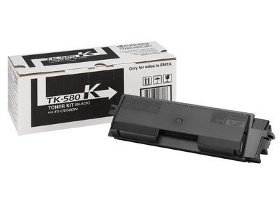 kyocera TK-580K toner nero, durata indicata 3.500 pagine