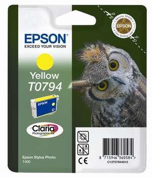 Epson t07944010 cartuccia giallo 11ml.