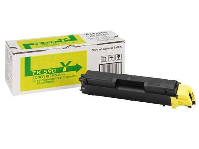 kyocera TK-590Y Toner Originale giallo, durata 5.000 pagine