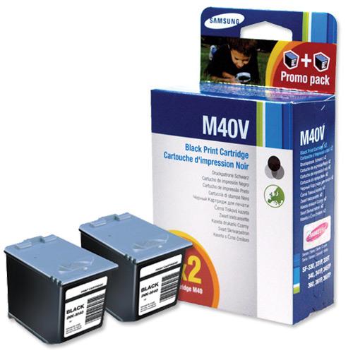 Samsung ink-m40v cartuccia nero 750p(2 pezzi)