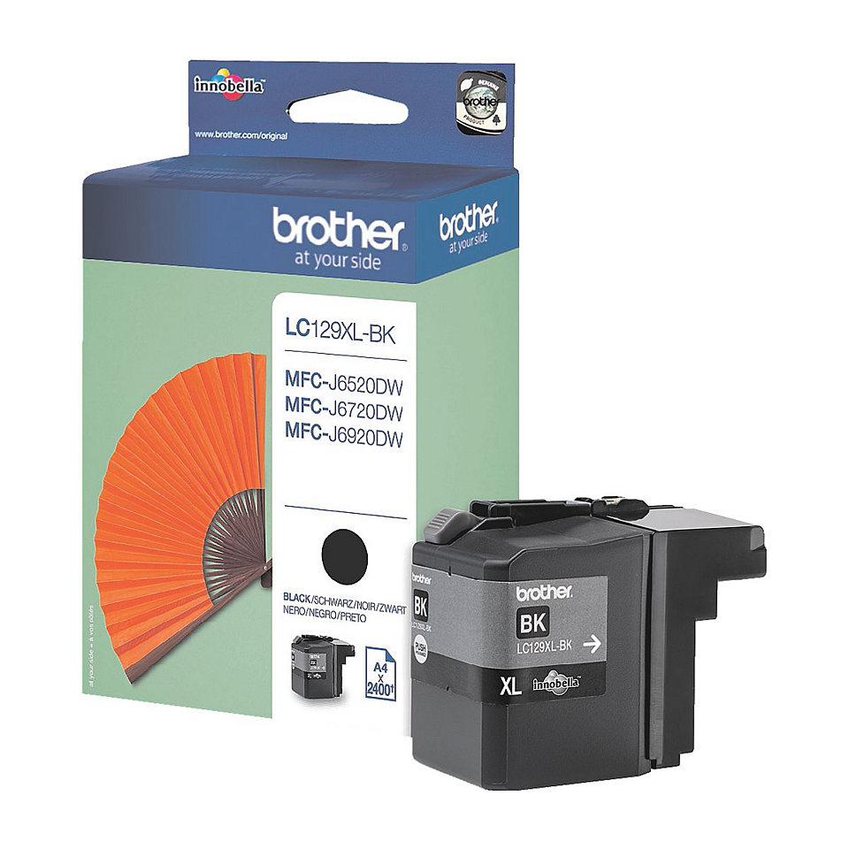 Brother LC-129XLBK Cartuccia d'inchiostro nero ~2400 pagine