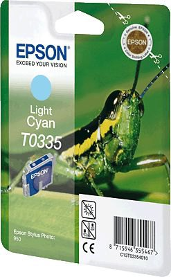 Epson T03354010 cartuccia cyano chiaro 17ml