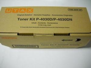 Utax-Triumph Adler 4434010010  toner nero, durata 12.500 pagine