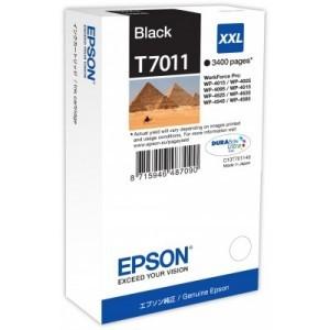 Epson T70114010 cartuccia nero xxl, durata 3.400 pagine