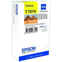 Epson T70144010 cartuccia giallo xxl, durata 3.400 pagine