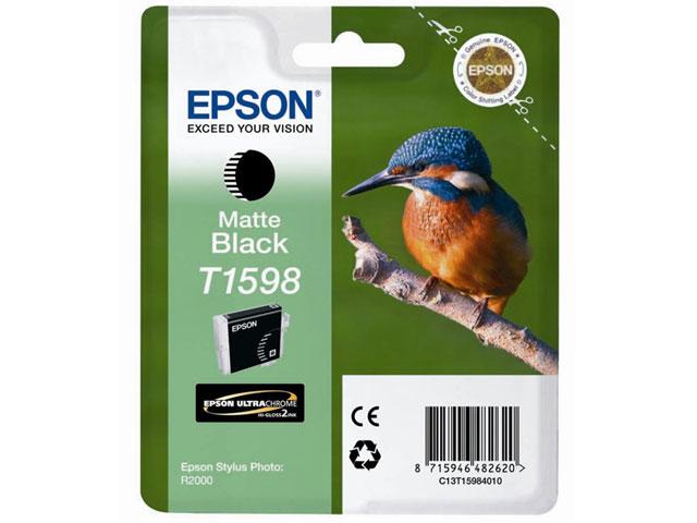 Epson C13T15984010 Cartuccia d'inchiostro nero (opaco) 17ml