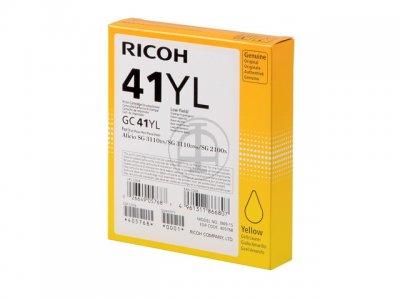 Ricoh 405768 cartuccia gel giallo, durata 600 pagine