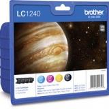 toner e cartucce - LC-1240VALBPDR   Value Pack colore 4 cartucce: cyano, magenta, giallo, nero.LC-1240
