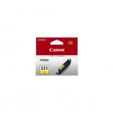 toner e cartucce - CLI-551y Cartuccia d'inchiostro giallo, capacità 7ml