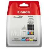 toner e cartucce - 6509B009 Multipack Originale: nero, cyano,magenta, giallo.(4 cartucce)