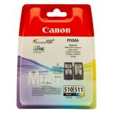 toner e cartucce - 2970B010 Multipack colore PG-510 + CL-511