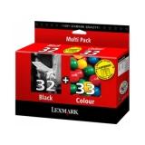 toner e cartucce - 80D2951 Multipack nero+colore 2 cartucce d'inchiostro