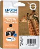 toner e cartucce - t07114h10 cartuccia nero 7,5ml twin pack, confezione da 2 cartucce