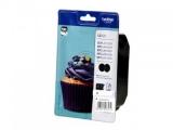 toner e cartucce - LC-123BKBP2DR Value Pack nero 2 cartucce d'inchiostro LC123BK