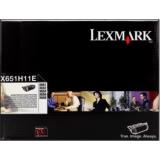 toner e cartucce - X651H11E toner originale nero, durata 25.000 pagine
