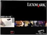 toner e cartucce - x651a11e toner originale nero, durata 7.000 pagine