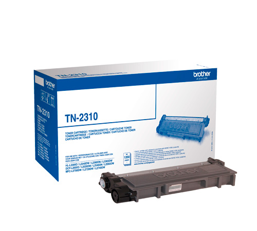 Brother tn-2310 toner nero, durata 1.200 pagine