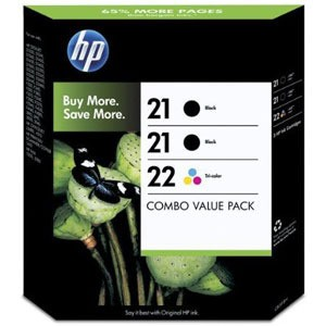 Hp sd400ae Multipack 2x HP 21 - C9351AE + HP 22 - C9352AE