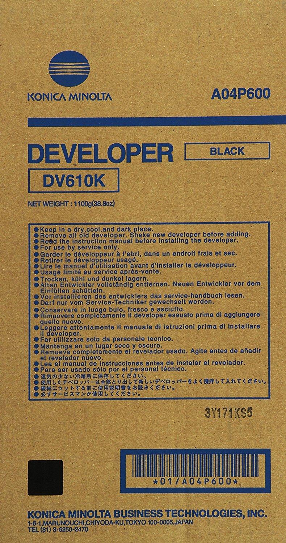 konica Minolta DV610K Developer Originale Nero