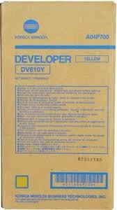 konica Minolta DV610Y Developer Originale Giallo