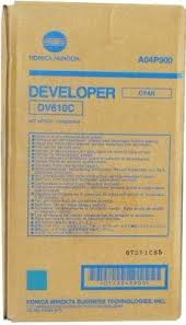 konica Minolta DV610C Developer Originale Cyano