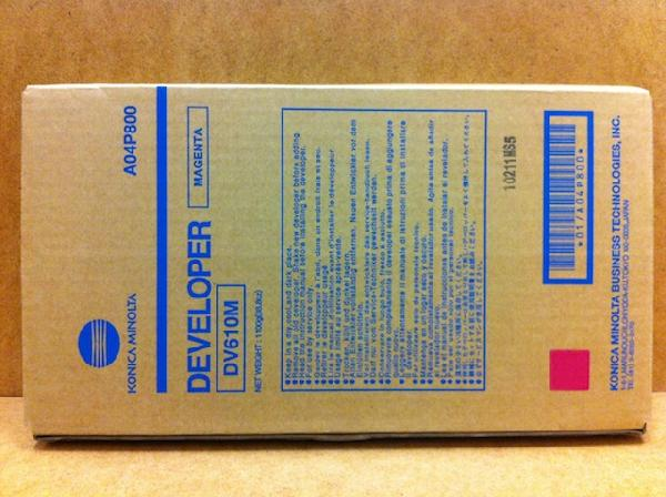 konica Minolta DV610M Developer Originale Magenta