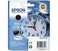 Epson C13T27914010 Cartuccia d'inchiostro nero 34.1ml, ~2200 pagine, XXL